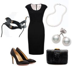 """Cat Woman Masquarade"" by cassbass519 on Polyvore"