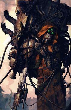"hellboywearshotpants: "" mr—anthill: "" Dark Mechanicus Source: The WH40k Wiki "" Hereteks! """