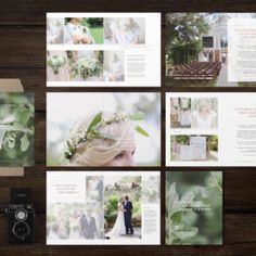 wedding photographer studio welcome packet