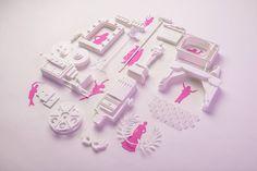 Cinema & Performance-Themed Paper Sculptures – Fubiz Media