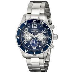 Herren Uhr Invicta 12911 Rolex Watches, Wrist Watches, Michael Kors Men, Casio Watch, Chronograph, Accessories, Black, Stars, Watches