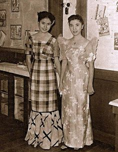 School via Ged Dizon vintage plaid Philippines Dress, Philippines People, Miss Philippines, Philippines Culture, Manila Philippines, Philippines Fashion, Davao, Modern Filipiniana Dress, Filipino Fashion