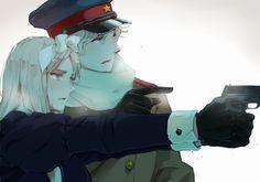Tags: Axis Powers: Hetalia, Belarus, Russia, Pixiv Id 15408965