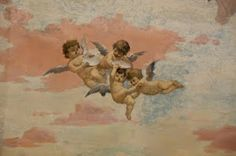 Angels & cherubs. I believe we are all looked after by spiritual beings.