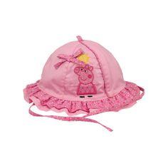 Sombrero niña baby Peppa Pig (T.42-44-46) rosa