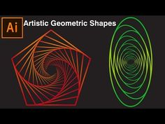 Artistic Geometric Shapes | Illustrator Tutorial - YouTube