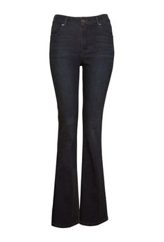 Dressed to perfection – This dressy drape pant works it well with a high heel and casually-tucked tee. Garment has an elasticated waistband and falls softly into a three-quarter length leg. Drape Pants, Flare Jeans, Bell Bottom Jeans, Indigo, Legs, My Style, Shopping, Dresses, Summer
