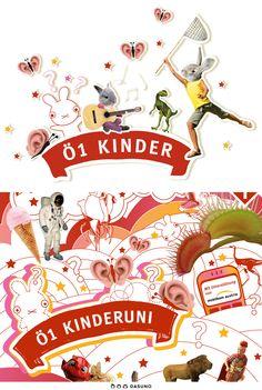 DASUNO // Client: Ö1 // Corporate Design // 2008 Corporate Design, Product Design, Kids, Brand Design, Branding Design