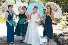 Krys & Chris' Scottish Picnic Wedding In The Redwoods