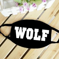 Exo Xoxo Wolf Personality Cotton Anti Dust Mask Mouth Mask, Black, 1Pc, 2015 Amazon Top Rated Face Masks & Shields #Beauty Tapas, Kawaii Faces, Post Rock, Goth Jewelry, Cosplay Characters, Fashion Mask, Mouth Mask, Skin Care, Top Rated