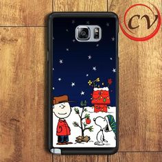 Snoopy Christmast Holiday Samsung Galaxy Note 7 Case