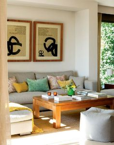 adelaparvu.com despre amenajare casa mica in tonuri naturale, design interior Carlos Baladia, Foto ElMueble (1)