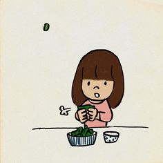 枝豆 #好きなもの #イラスト