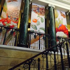 The Queen's Gallery, Buckingham Palace honors Maria Merian. The Queen's Gallery, Sibylla Merian, Buckingham Palace, Fall 2016, Windows, London, Artist, Painting, Painting Art