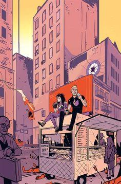 All New Hawkeye #3 Variant Cover by Annie Wu
