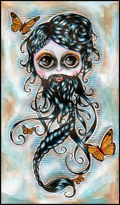 I also want to get this tattooed on me. I think she is beautiful!
