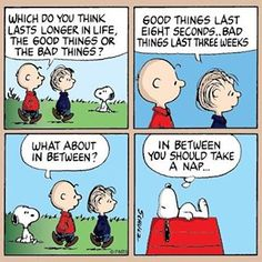 Snoopy is my nap idol!