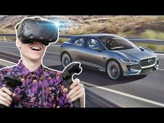 VIRTUAL REALITY CAR SHOWROOM | Jaguar I-PACE VR Experience (HTC Vive Gameplay) - YouTube