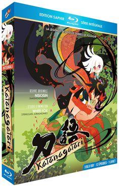 Amazon.fr - Katanagatari - Intégrale - Edition Saphir [3 Blu-ray] + Livret - White Fox, NisiOisiN, Keitarô Motonaga : DVD & Blu-ray
