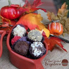 The weather is getting cooler, the grass is drying out but our Brigadeiros are still coming out GREAT!!! Order now www.ninabrigadeiro.com/shop #brigadeiro #chocolate #order #love #lovebrigadeiro