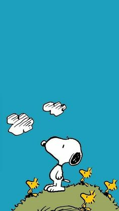Find images and videos about dog, cartoon and snoopy on We Heart It - the app to get lost in what you love. Snoopy Love, Snoopy E Woodstock, Charlie Brown Y Snoopy, Calvin And Hobbes Wallpaper, Snoopy Wallpaper, Cartoon Wallpaper, Iphone Wallpaper, Peanuts Cartoon, Peanuts Snoopy