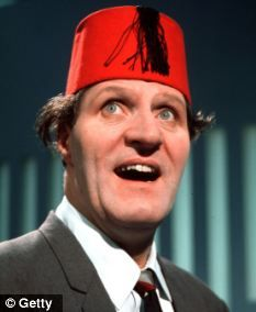 Tommy Cooper: Another comedy giant with the ability to make the crowds laugh even before setting foot on the stage. Have you heard the story about when he met the Queen? Then you know why he's on this board, genius!
