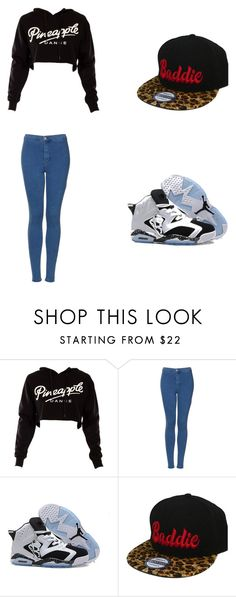"""""""Rollerskating"""" by swaggmaster1994 ❤ liked on Polyvore featuring Topshop and Retrò"""