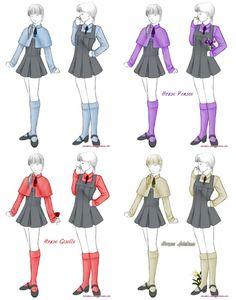 Beauxbatons Uniforms Photo by _anamnesis_ on Photobucket