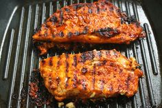 Spicy Grilled Chicken Breast with Step by Step Pictures. Grilled Chicken Breast is easy and juicy chicken breast. Grilled Chicken Breast Recipes, Perfect Grilled Chicken, Spicy Grilled Chicken, Chicken Snacks, Recipe Chicken, Grill Recipes, Veg Recipes, Indian Food Recipes, Asian Recipes