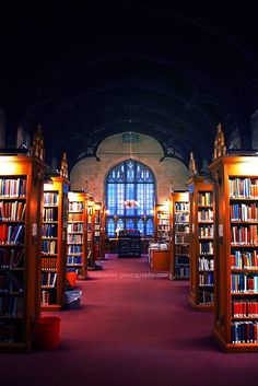 Magdalen College library