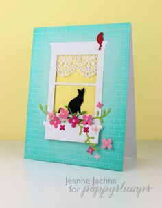 madison window - Homemade Cards, Rubber Stamp Art, & Paper Crafts - Splitcoaststampers.com