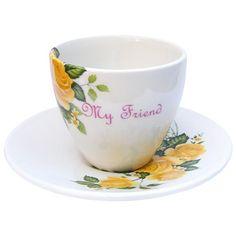 My Friend Teacup & Saucer on AHAlife