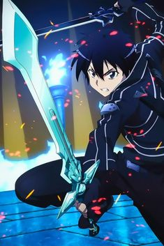 Sword Art Online gets better and better with every passing episode. Watching the anime, reading the Light Novel and manga at the same time, it's like I ju. Sword Art Online Asuna, Sword Art Online Drawing, Kunst Online, Online Art, Otaku Anime, Anime Guys, Sao Anime, Manga Anime, Sao Kirito And Asuna