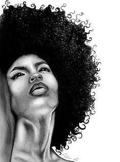 Black and white classic art work