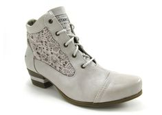 Achat chaussures Mustang Shoes Femme Boots, vente Mustang Shoes Boots Beige Ice dentelle 1187 501 203