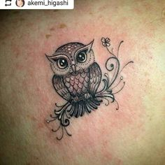 owl tattoo for women . owl tattoo for women small Tiny Owl Tattoo, Baby Owl Tattoos, Simple Owl Tattoo, White Owl Tattoo, Tribal Owl Tattoos, Owl Tattoo Drawings, Tattoos Mandala, Tattoos Geometric, Owl Tattoo Design