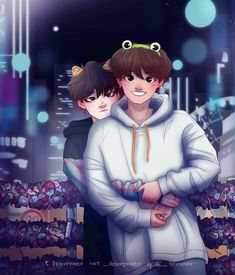 [one year anniversary au in which yoongi wont smile on pictures but jungkook loves him anyways] Yoonmin Fanart, Vkook Fanart, I Love My Dad, I Love Bts, Foto Bts, Bts Photo, Taekook, Fan Art, Gothic Anime