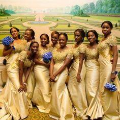 africa bridesmaid dress