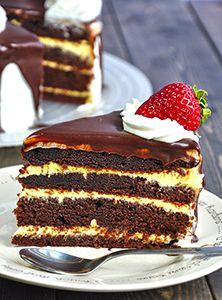 Шоколадный торт «Соблазн» рецепт с фото