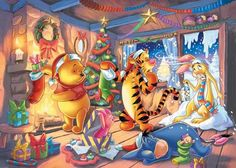 Winnie the Pooh and Friends Merry Christmas