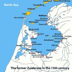 On 14 June 1918 the Zuiderzee legislation, which reflects the reclamation of the Zuiderzee was decided.