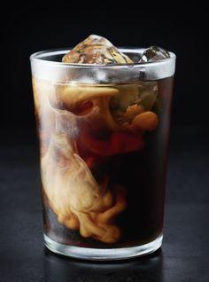 Banana Milk Coffee - I could make this with almond milk, yummmmm