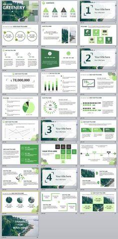 Pinterest danimannens business financial matters pinterest 28 green annual report chart powerpoint template toneelgroepblik Gallery