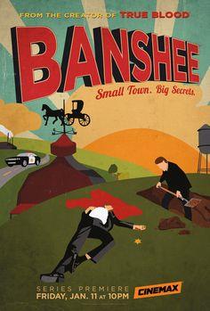Banshee de Jonathan Tropper, David Schickler Avec Antony Starr, Ivana Milicevic...