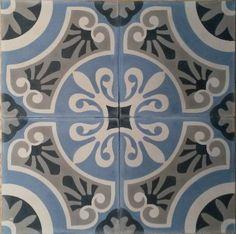 Details du produit - Charme & Parquets Carreaux de ciment pour crédence Parquet Paris, Ikea Kitchen Design, Spanish Tile, House Tiles, Classic Bathroom, Flower Clipart, Style Tile, Stone Flooring, Tile Art