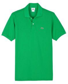 Lacoste L1212 Original Polo Shirt - 100% Cotton