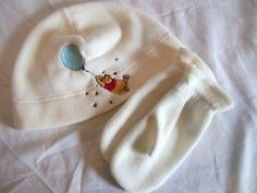 Baby Hat and Mittens Set Custom Embroidery by LuvtoCustom on Etsy, $12.00