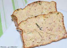Pain de thon IG Bas Batch Cooking, Healthy Cooking, Healthy Breakfast Recipes, Healthy Recipes, Bread Cake, Light Recipes, Vegan Desserts, Entrees, Banana Bread