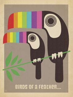 Tucanos Arco-íris