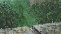 Water Aesthetic, Aesthetic Gif, Aesthetic Videos, Aesthetic Wallpapers, Secret World Of Arrietty, The Secret World, Anime Scenery Wallpaper, Wallpaper Backgrounds, Gifs